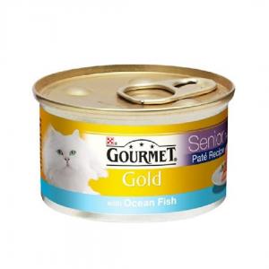 Gourmet Gold Ocean Fish In Pate 85G