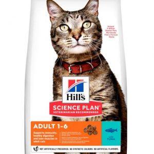 Hills Adult Cat 1-6 Light Tuna 1.5Kg