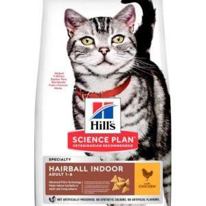 Hills Cat Indoor Hairball 1.5Kg