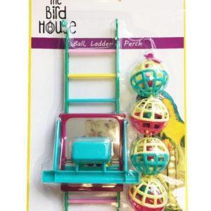 Happy Pet 3Pk Bird Toy Set