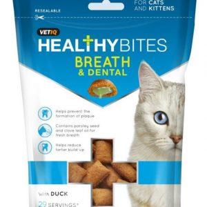 Vet IQ M&C Cat Healthy Dental Treat 65G