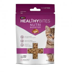 Vet IQ M&C Kitten Nutri Boost Bites 65G