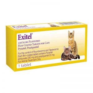 Exitel Cat Wormer 1 Tablet