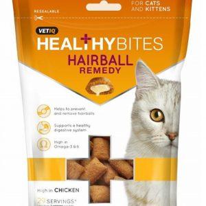 Vet IQ M&C Cat Hairball Remedy Treats 65G