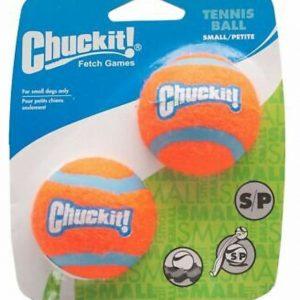 Chuckit Tennis Ball Small/Petite 2 Pack