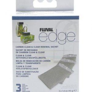 Fluval Edge Carbon Clean & Clear 3 Pack 45G