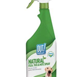 Out Natural Flea & Tick Spray 500Ml