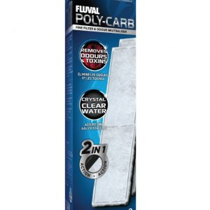 Fluval U4 Poly Carbon Cartridge 2 Pack