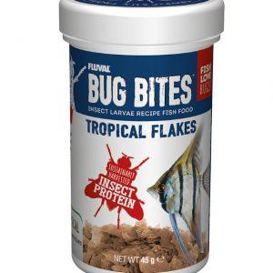 Fluval Bug Bites Tropical Flakes 45