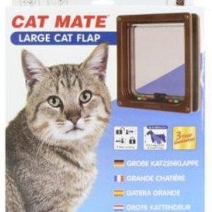 Cat Mate 4 Way Flap Glass