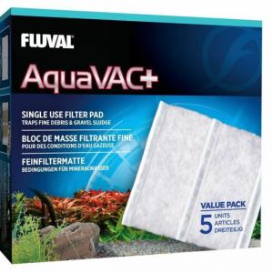 Fluval Aquavac Fine Filter Pads 5 Pack