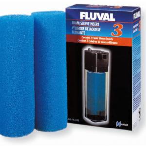 Fluval 3 Foam Sleeve Insert 2 Pack