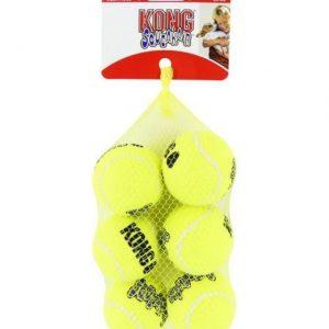 KONG Air Squeaker Tennis Ball 6Pk