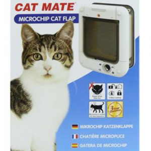 Cat Mate Microchip Cat Flap White