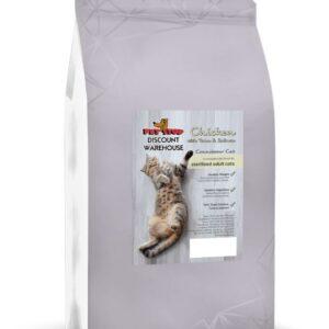 Connoisseur Cat Sterilised Cat – Chicken, Tuna & Salmon