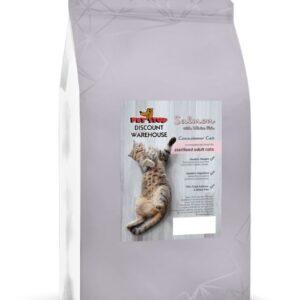 Connoisseur Cat Sterilised Cat – Salmon