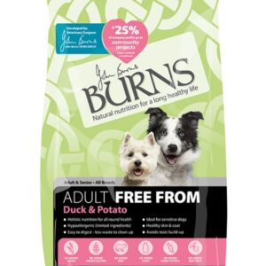 Burns Free From For Adults Duck & Potato