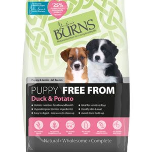 Burns Free From Duck & Potato Puppy