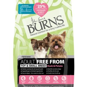 Burns Toy & Small Breed Free From Duck & Potato