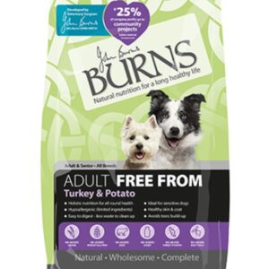 Burns Free From For Adults Turkey & Potato