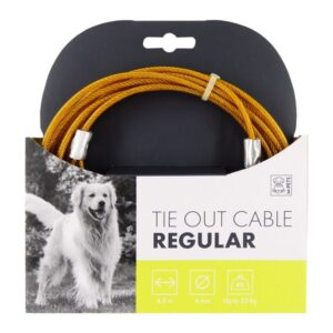 Mpets Tie Out Cable 15 Foot