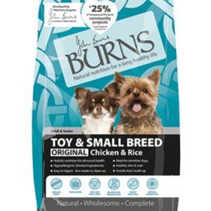 Burns Original Chicken & Rice – Toy & Small Breed