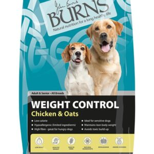 Burns Weight Control Chicken & Oats