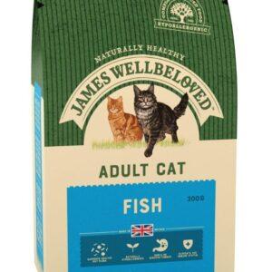 James Wellbeloved – Cat – Fish & Rice 300g