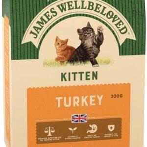 James Wellbeloved – Kitten – Turkey 300g