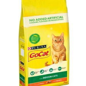 Go Cat Indoor Cat Chicken & Veg 2kg