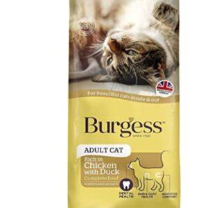 Burgess SupaCat Adult Cat – Chicken & Duck  10kg