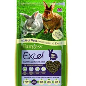 Burgess Excel Adult Rabbit Light 2kg