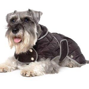 Ancol Black Diamond Quilt Coat XXL
