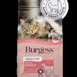 Burgess SupaCat Adult Cat – Salmon 1.5kg