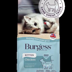 Burgess SupaCat Kitten – Chicken 1.5kg