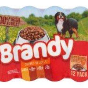 Brandy Chunks In Jelly 12 Pack