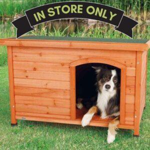 Natural Lodge Dog Kennel M/L 130x100cm