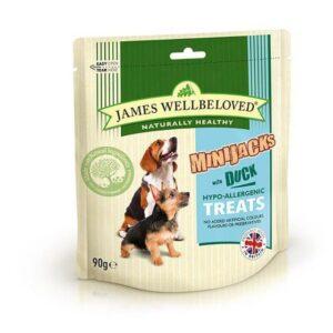 James Wellbeloved MiniJacks Treats – Duck 90g
