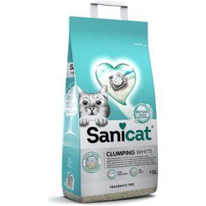 SaniCat Clumping White Oxygen 10L
