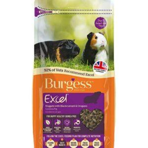 Burgess Excel Guinea Pig Food 2kg – Blackcurrant & Oregano