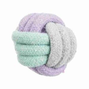 Junior Pup Knot Rope Ball 6Cm