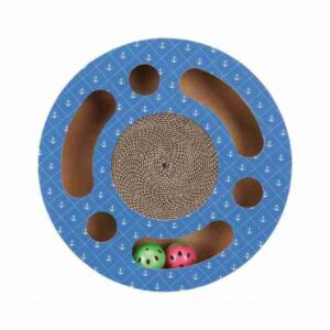 Scratching Drum With Toy Balls