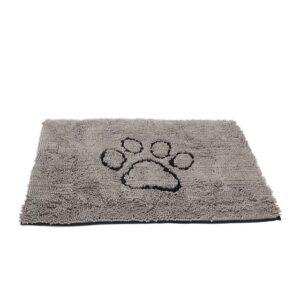 Dirty Dog Large Doormat Grey