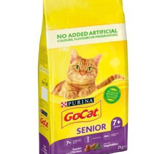 Go Cat Senior Chicken/Veg 2kg