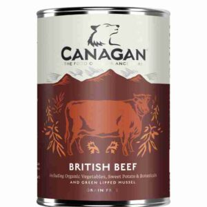 Canagan Adult Can British Beef