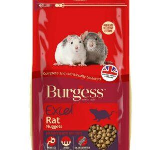 Burgess Excel Rat Nugget 1.5kg