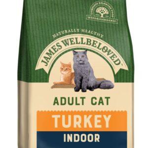 James Wellbeloved Indoor Adult Cat – Turkey 300g