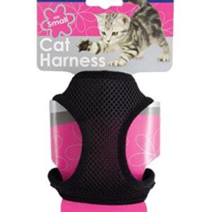 Ancol Cat/Rabbit Harness & Lead Set – Black
