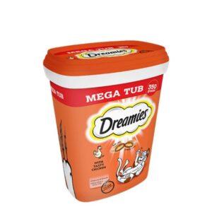 Whiskas Dreamies Megatub Chicken 350g