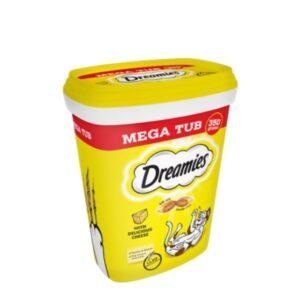 Whiskas Dreamies Megatub Cheese 350g